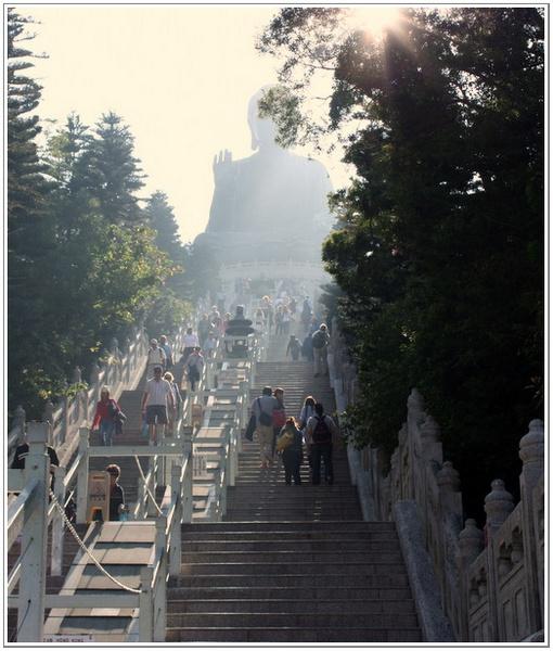 STEPS TO BIG BUDDHA by JOKEN