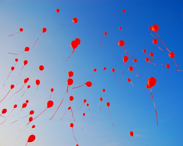 Balloons in Flight by ASM9633