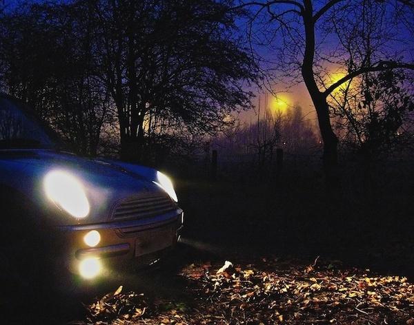 Mini in the mist by Carrera_c