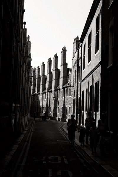 Cambridge backstreet by pentaxian