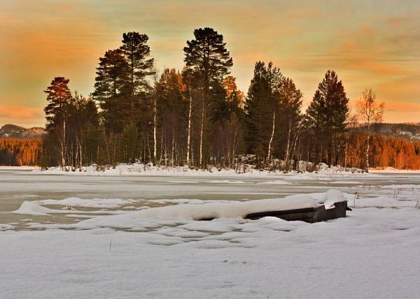 Frozen Lake by bjornval