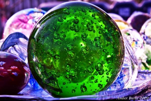 Green bubble by ABurke
