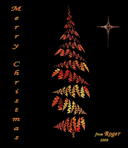 Fractal Christmas by Rogerex