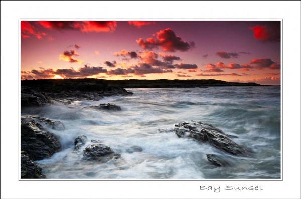 Bay Sunset by Alfoto