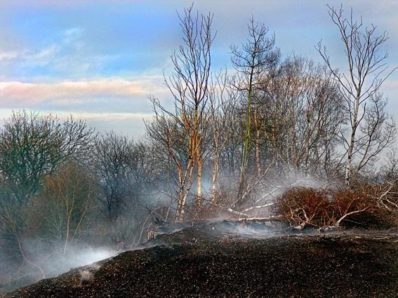 on fire by epoxy