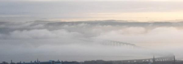 Mist Tay Rail Bridge by unicorn17