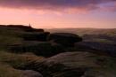 Earl's Cragg Sunset II by Warriorpoet