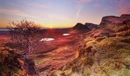 Quiraing December sunrise