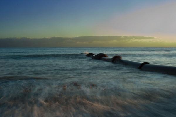 Longrock Beach by Robe