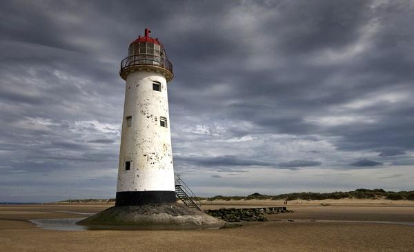 Talacre Lighthouse by Jedro