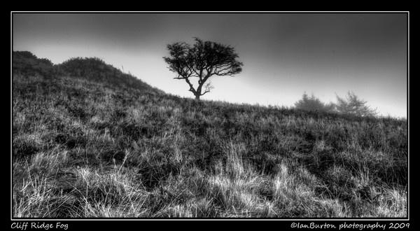 Cliff Ridge Fog by IanBurton