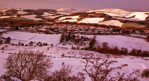 Selkirk in winter by luckybry
