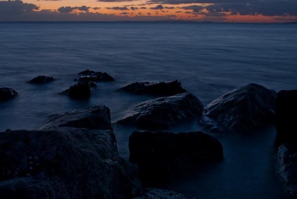winter sunset by kieranmccay