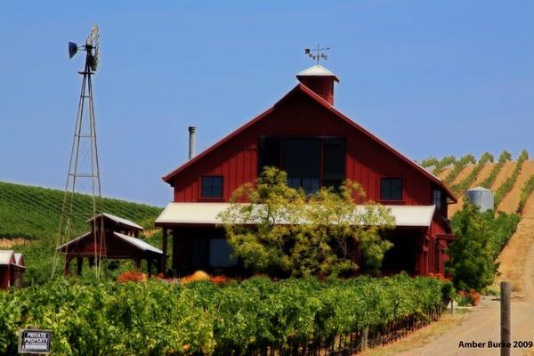 Farmhouse in Napa by ABurke