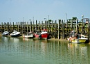 Moored Fishing Vessels by JJGEE