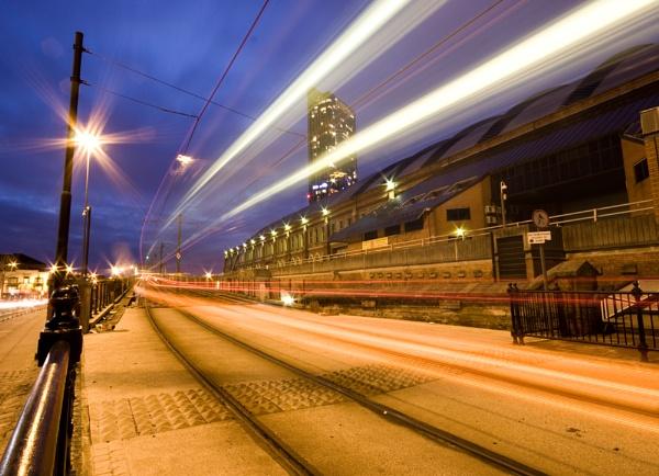 Tram Lines by Britman