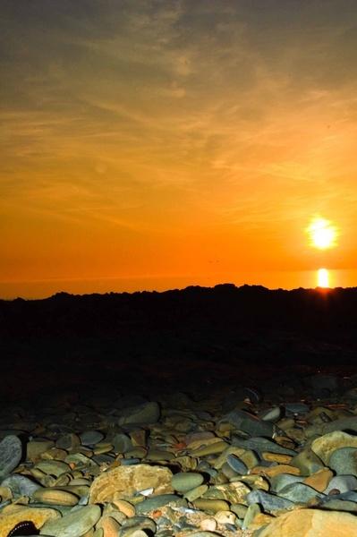 Croyde Sunset by Ridefastcarveha