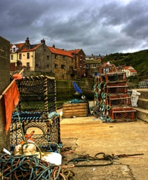 Staithes creels
