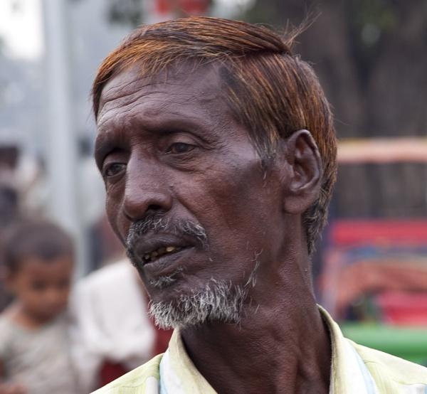 Delhi Rickshaw Driver by GrahamBaines