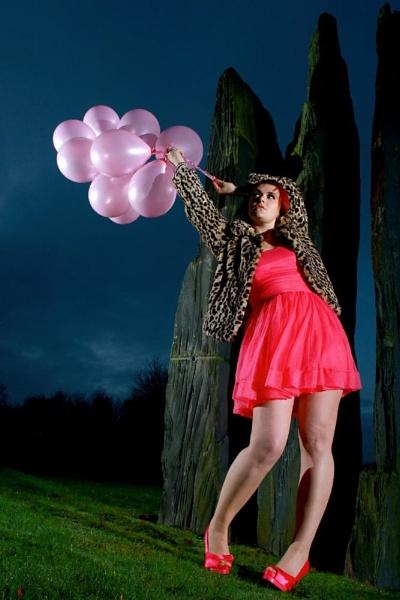 Pink ballons by SKavanagh