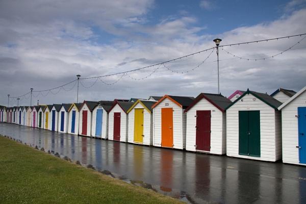 Paignton Beach Huts by smartiemart