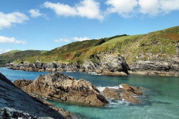 Lansallos Beach,Sth. Cornwall. by rpba18205