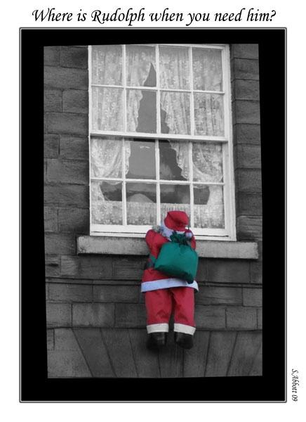 Where,s Rudolf? by elaronndy