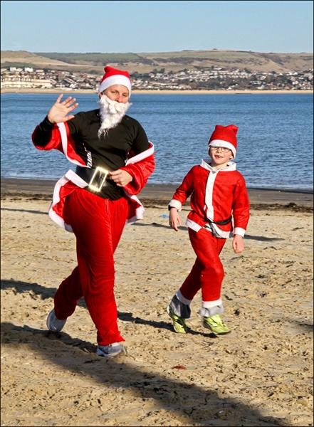 Santa Run by pennyspike