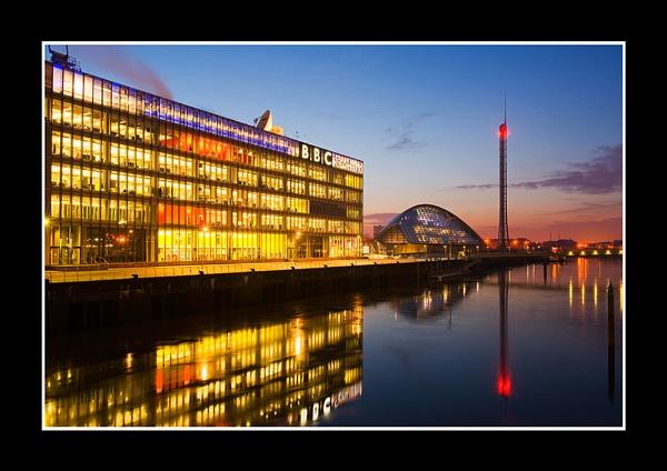 BBC Scotland, Glasgow. by johnc1711