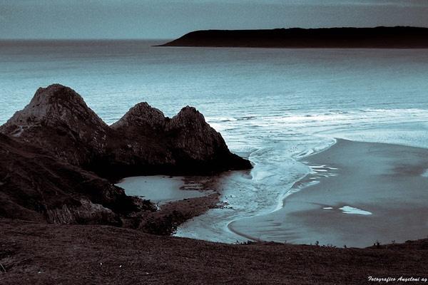 Three Cliffs Bay by 54 luca