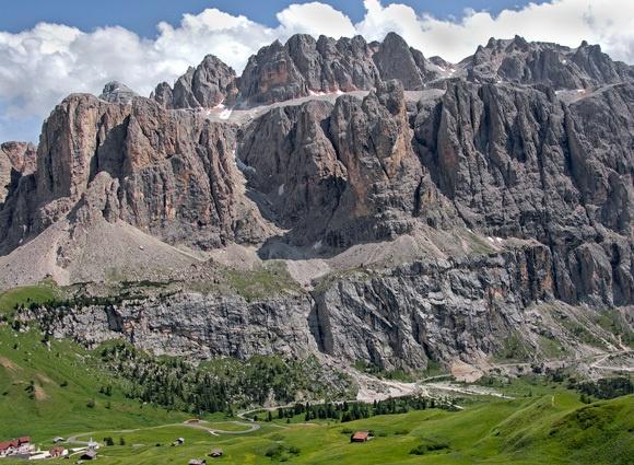 The Dolomites by david hunt