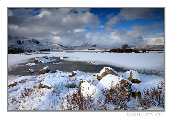 Black Mount Winter... by Scottishlandscapes