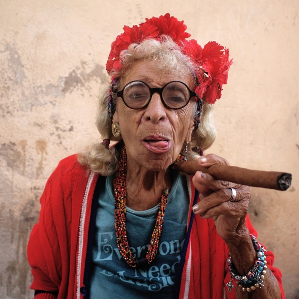 Old Lady Of Havana by MDaniel