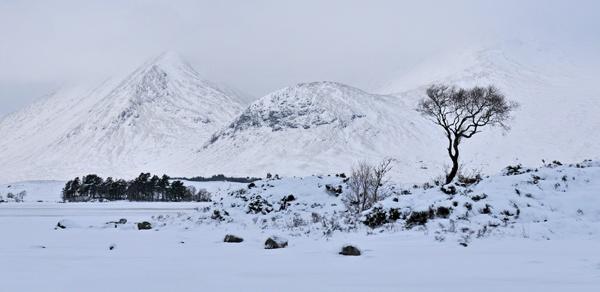 Black Mount Snow by RosePhoto