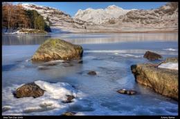 Ice on the Tarn