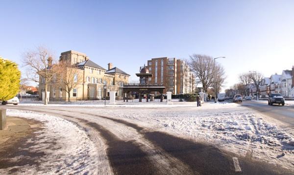 Frozen Road by zimac