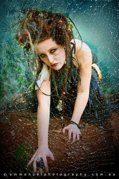 web of black magic by KatrienaEmmanuel