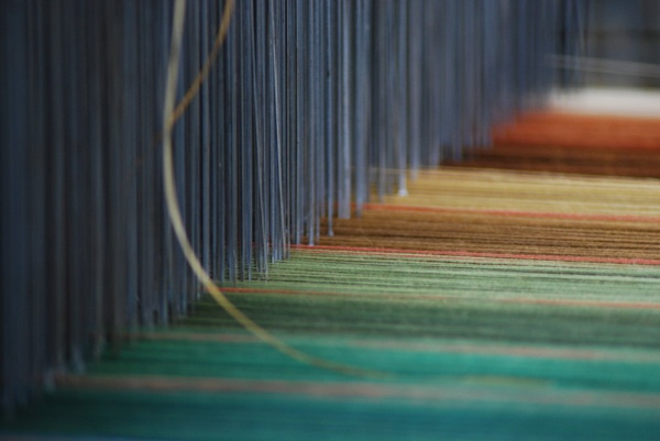 Where warp meets weft by Jacquie_Gibson