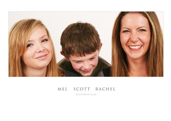 Family Portrait by Skull
