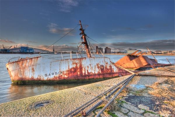 Sunken Boat by Britman