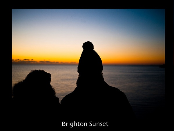 Brighton Sunset by andywest
