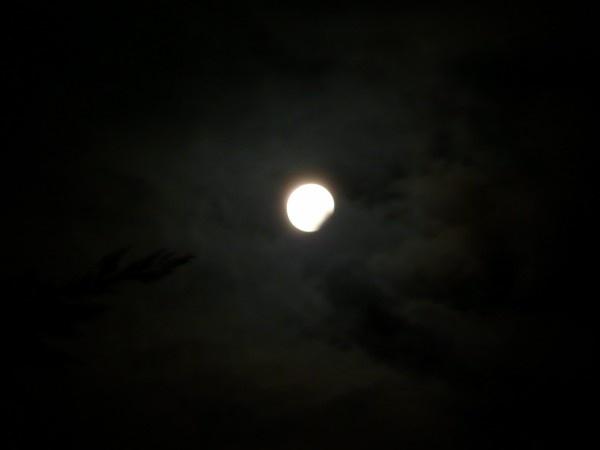 partial lunar eclipse by quattro