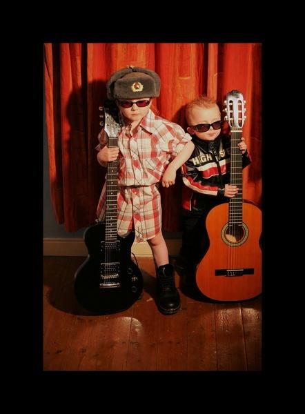 Rock And Roll Kids! by SandraDee2