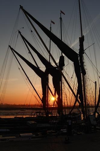 Thames Barges by nikonhammer