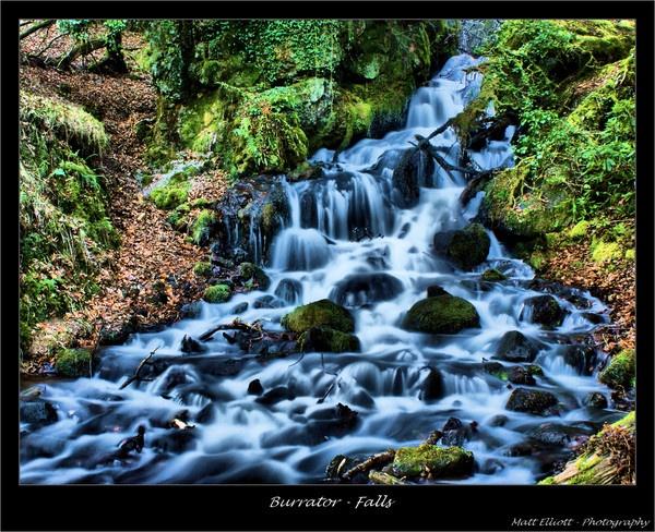 Burrator Waterfall by matteee