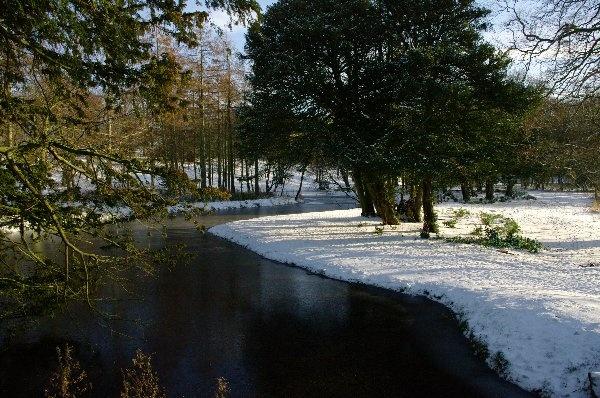 The Wintery Park by GX20PAB