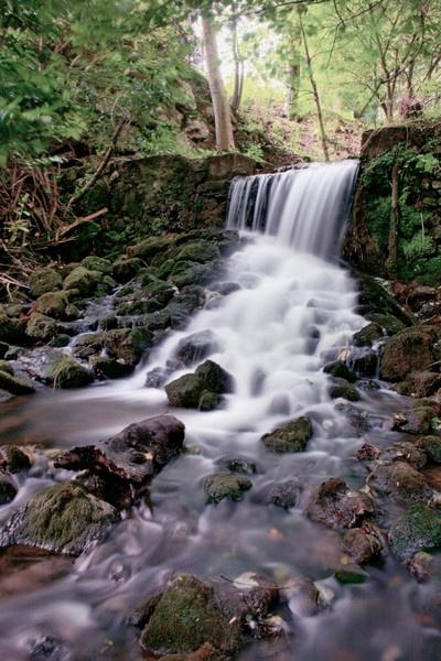 HDR waterfall by KatyHarlow