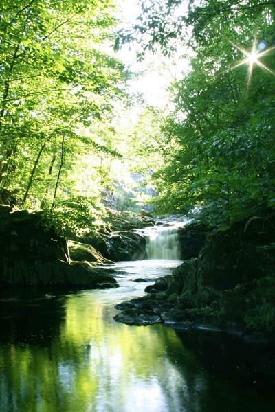 Wales waterfall by KatyHarlow