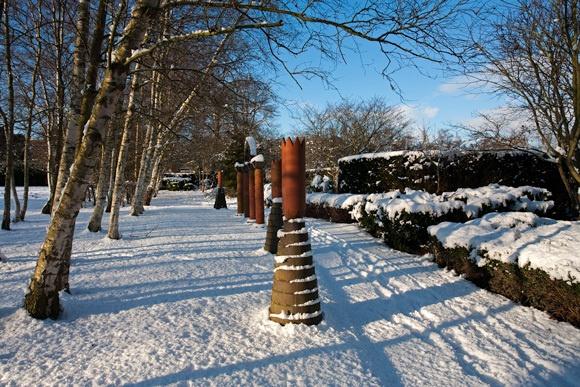 Snowy Chimneys by david hunt