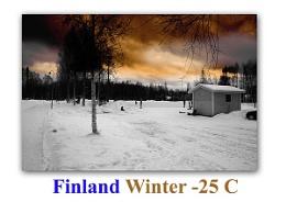 Finland - Suomi - Snow